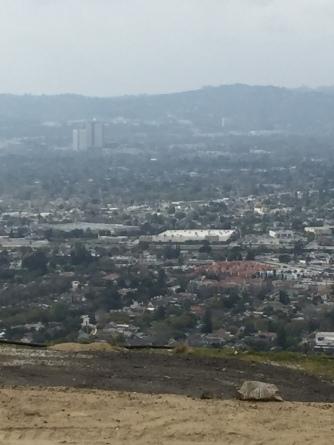 A pretty nice view of Burbank
