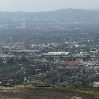 A pretty nice view of Burbank